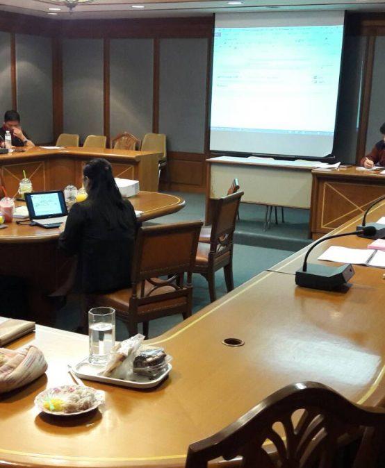การประเมินหลักสูตร ประจำปีการศึกษา 2560 โดยผู้ทรงคุณวุฒิ จากมหาวิทยาลัยศรีนครินทรวิโรฒ