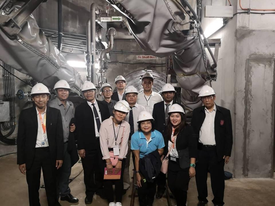 ศึกษาดูงานระบบ SCADA System, 230 kV Underground Tunnel และ Power Distibution System ณ การไฟฟ้านครหลวง (MEA)