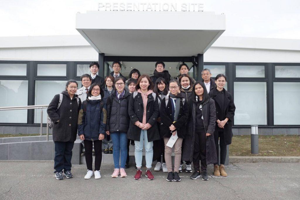 แลกเปลี่ยนนักศึกษาระหว่างมหาวิทยาลัยสยาม กับมหาวิทยาลัยจิบะ ประเทศญี่ปุ่น